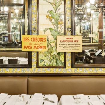 Lipp, l'une des brasseries les plus emblématiques du quartier de Saint-Germain des Prés
